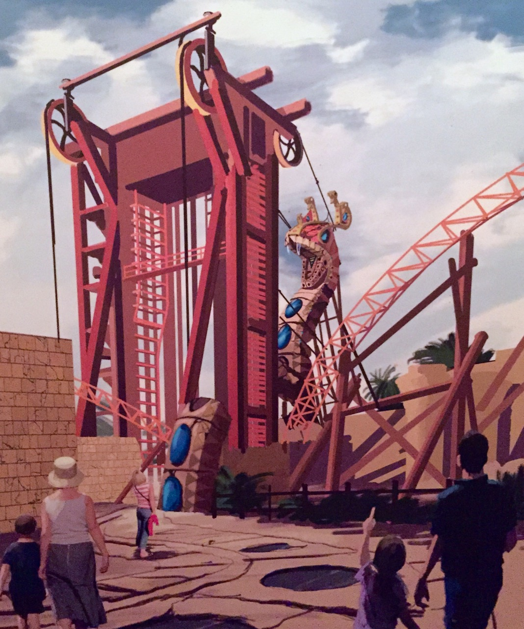 Busch Gardens cobra curse - 1