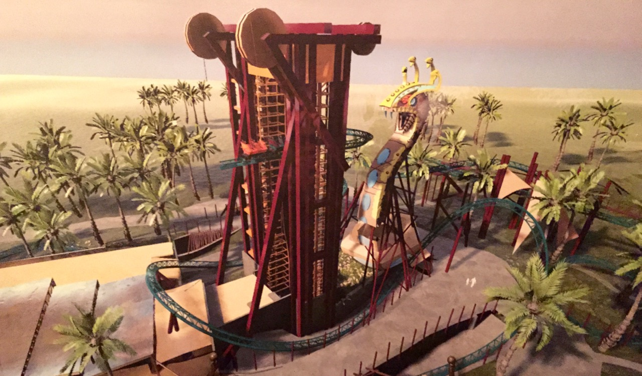 Cobra 39 s curse spinning coaster coming to busch gardens for Busch gardens tampa bay cobra s curse