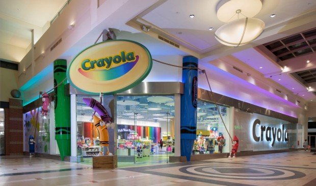 Exterior Retail Crayola Store Experience Florida Mall