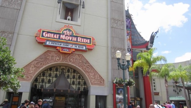Great Movie Ride turner classic movies disney