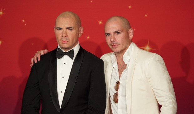 pitbull wax figure madame tussauds orlando