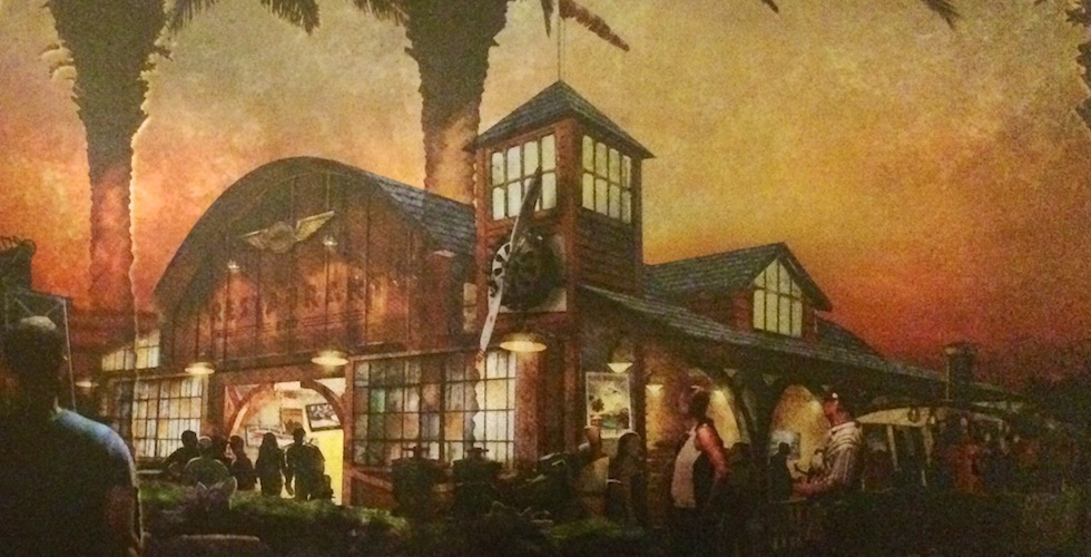 The Hanger indiana jones themed bar