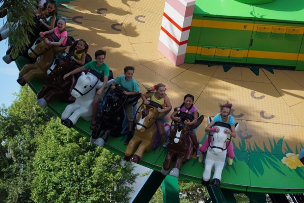 legoland florida lego friends heartlake city mia's riding adventure