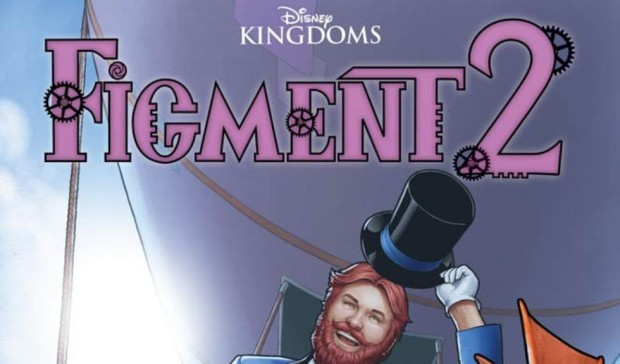 Figment 2 #1 cover crop Marvel Disney