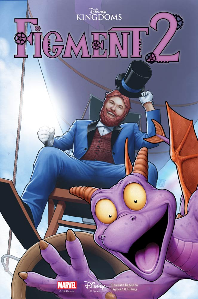Figment 2 #1 cover Marvel Disney