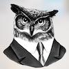 Fowl Owlerson mug