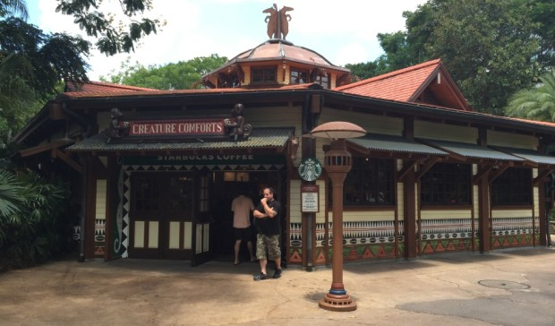 starbucks creature comforts disney's animal kingdom