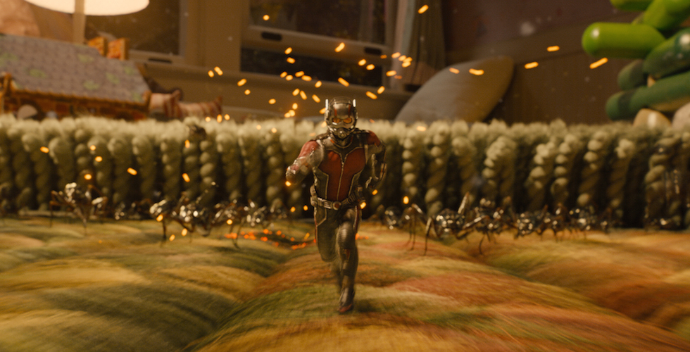 Marvel's Ant-Man in the carpet