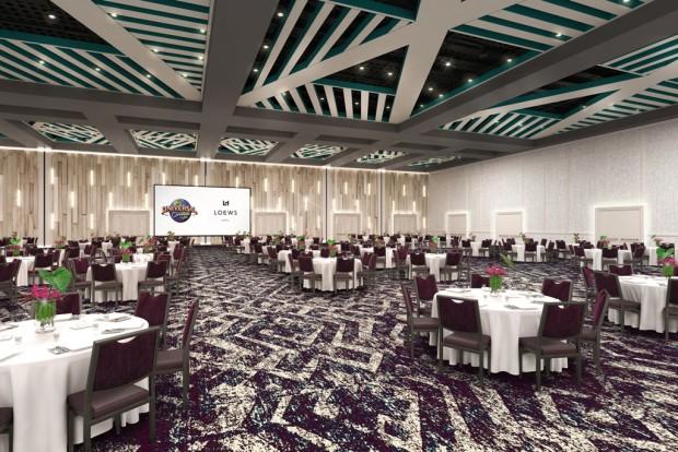 Universal Orlando Sapphire Falls Resort Ballroom