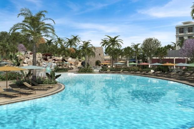 Universal Orlando Sapphire Falls Resort Pool