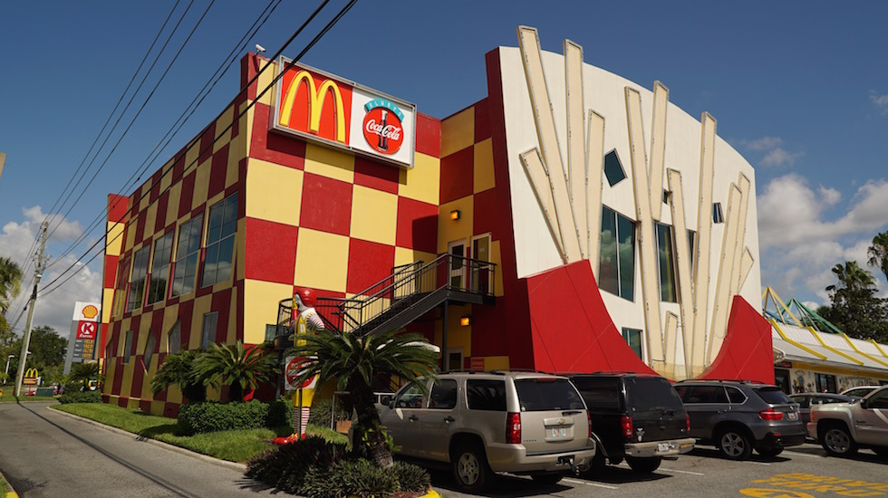 old entertainment mcdonalds in orlando
