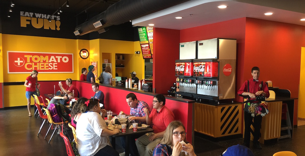 Tom+Chee restaurant opens near Downtown Disney