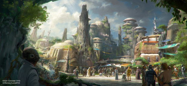 Star Wars land Disney's Hollywood Studios Disneyland