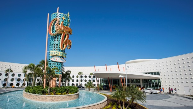 Universal's Cabana Bay Beach Resort Front Entrance