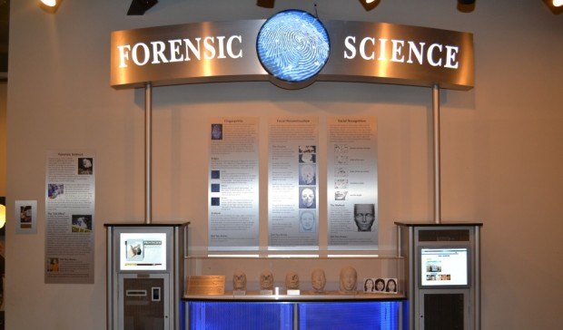 WonderWorks forensic science exhibit