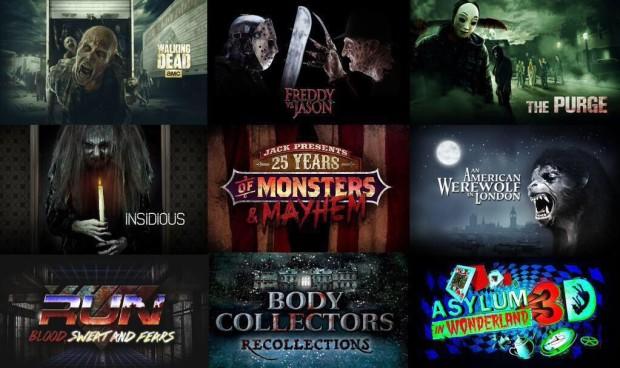 Halloween Horror Nights 25 lineup