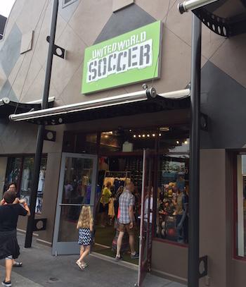 United World Soccer store