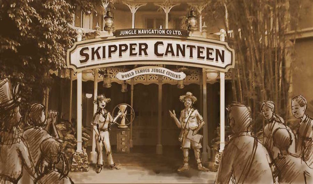 skipper canteen restaurant jungle cruise adventureland magic kingdom