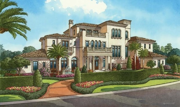 Four Seasons homes Walt Disney World Golden Oak