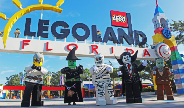 Legoland Florida Brick or Treat Halloween characters