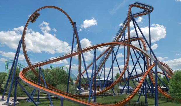 Valravn Immelmann Cedar Point