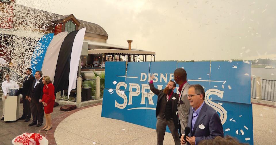 disney springs naming ceremony