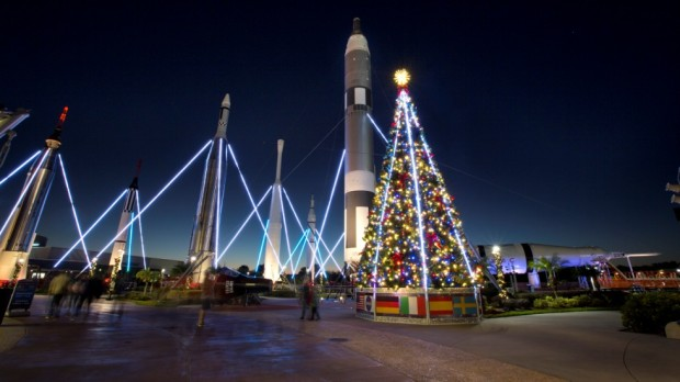 Holidays in Space Kennedy Space Center Visitor Complex