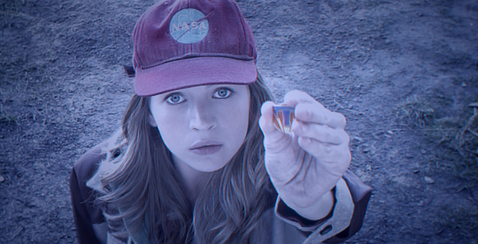 Disney's TOMORROWLAND...Casey (Britt Robertson) ..Ph: Film Frame..?Disney 2015