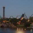 Hulk coaster skyline