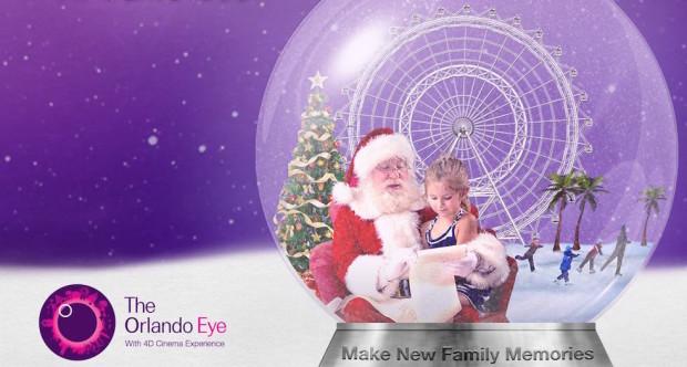 Frostival Orlando Eye I-Drive 360