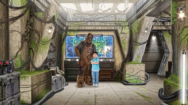 Star Wars Launch Bay Disney's Hollywood Studios