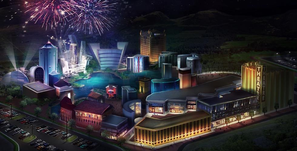 Avatron theme park concept art