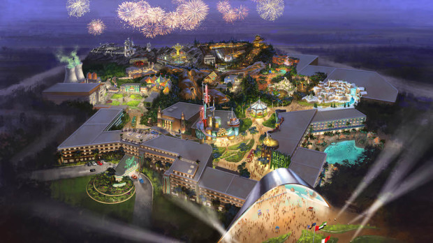 20th Century Fox theme park resort Dubai