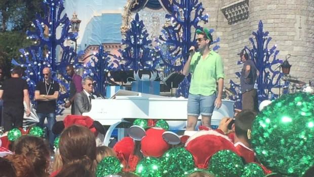 Rhett Wheeler David Foster The Prayer Disney Parks Unforgettable Christmas Celebration