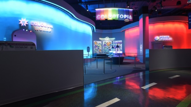 Colortopia presented by Glidden Epcot Innoventions