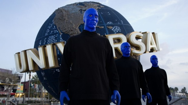 Blue Man Gr0oup autism-friendly show