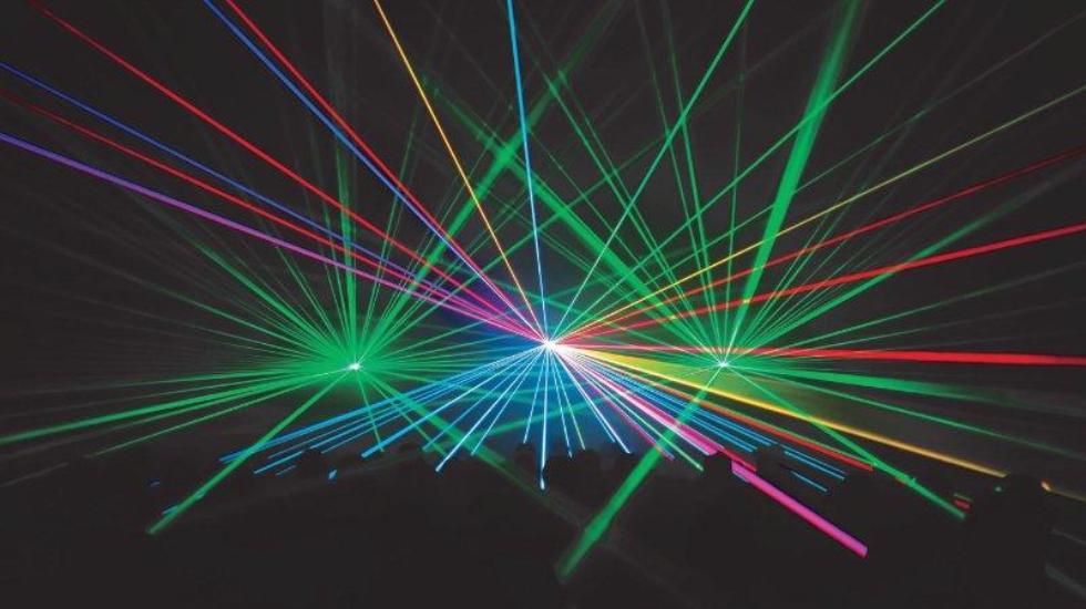 New Laser Light Show Debuts At Orlando World Center Marriott