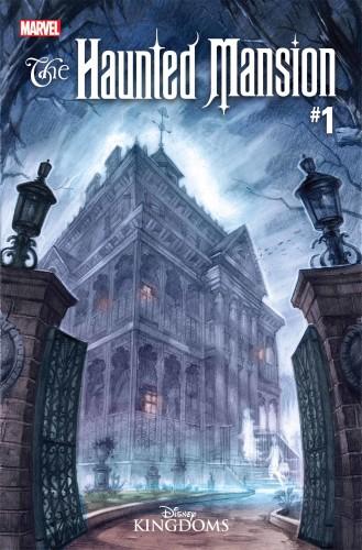 Haunted Mansion Disney Marvel cover