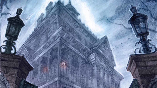 Haunted Mansion Cover cropped