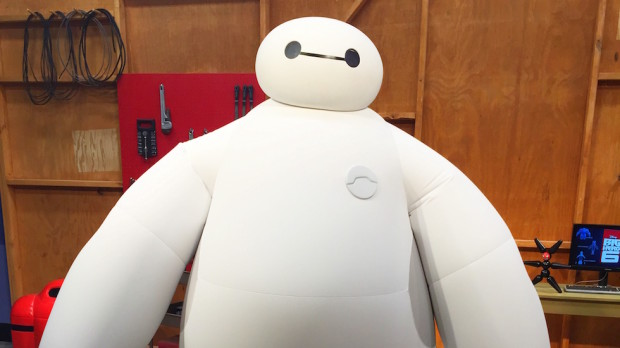 baymax big hero 6 character epcot walt disney world