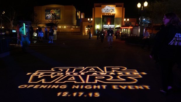 Star Wars: The Force Awakens Opening Night Event at Walt Disney World
