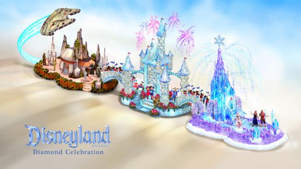 Disneyland Resort Rose Parade 2016