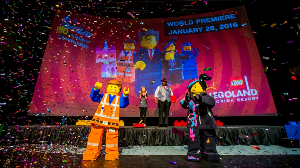 The Lego Movie 4d Debuts At Legoland Florida Resort