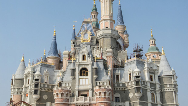 Enchanted Storybook Castle Shanghai Disneyland