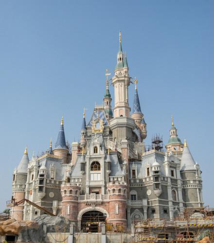 Shanghai Disneyland Enchanted Storybook Castle Hi-Res