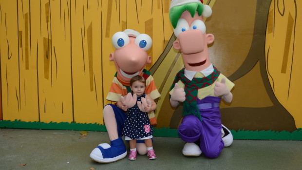 Phineas and Ferb Disney's Hollywood Studios