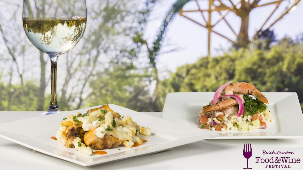 Busch Gardens Reveals Menu For Annual Food Wine Festival