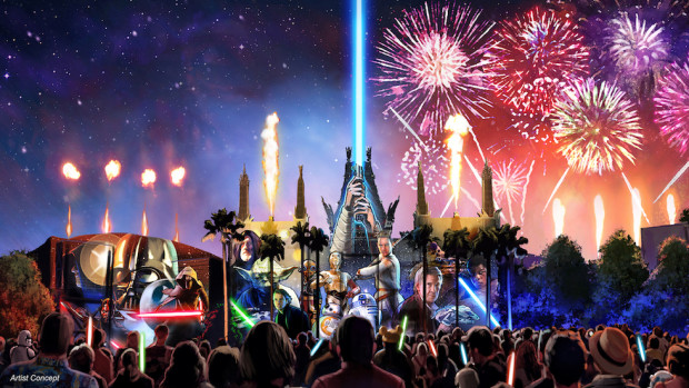 New Star Wars Nighttime Spectacular Coming to Disney's Hollywood Studios