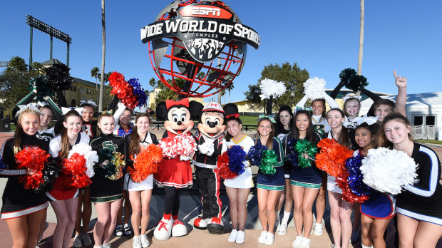 ESPN Wide World of Sports Walt Disney World cheerleading dance