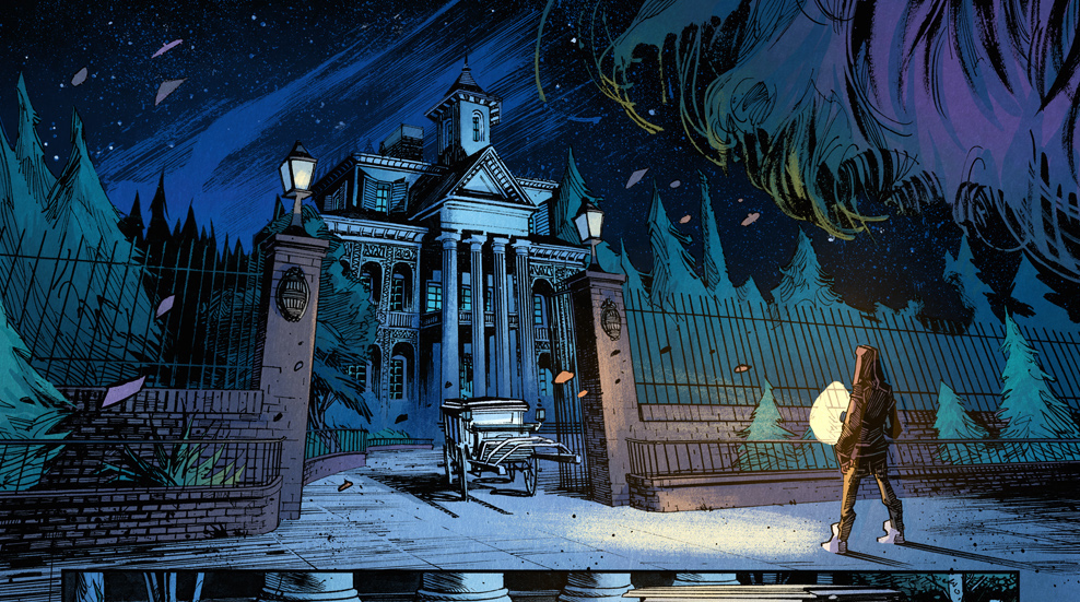preview of marvels haunted mansion 1 comic